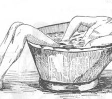 banho genital