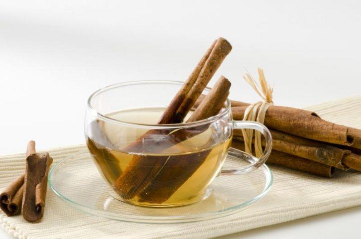 benefícios do chá de canela