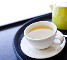 chá de folhas de graviola