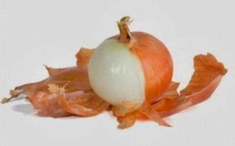 banho de casca de cebola