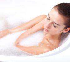 banho para baixar a febre