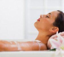 banho calmante