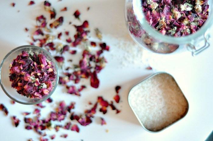 banho de hibisco