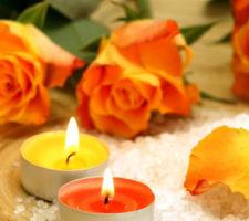 banho de rosas amarelas