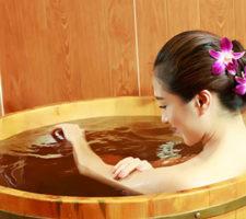 banho de malva