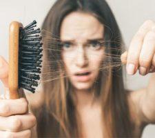 chás para queda de cabelo