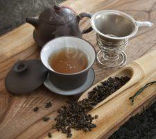 benefícios do chá azul